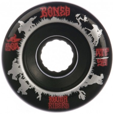 Roues Bones ATF Roughriders Wranglers Black 80A