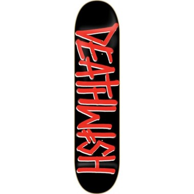 Board Deathwish Deathspray Red