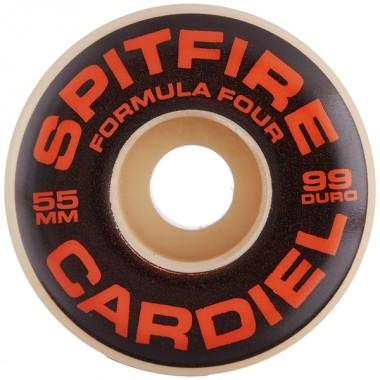 Roues Spitfire F4 Cardiel Deep Tablet Natural 99D