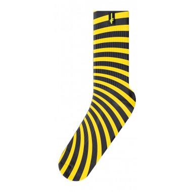 Socks Deathwish Discordia Yellow