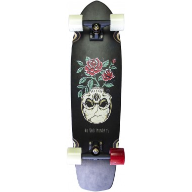 Cruiser Complete Board Dusters Mondays Black