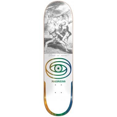 Board Madness Donde R7 White