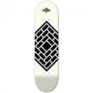 Board The National Skate Co. Classic Cream