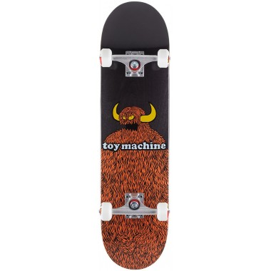 Complete Board Toy Machine Furry Monster