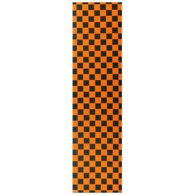 Grip Ebony Plaque Checker Black Orange