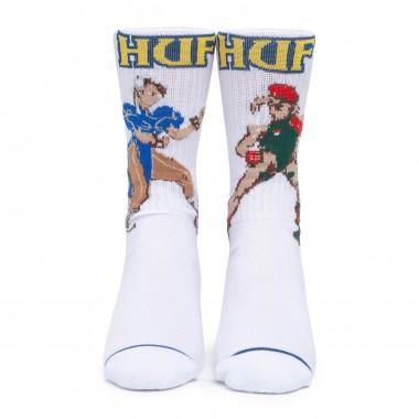 Socks Huf Chun-Li & Cammy White