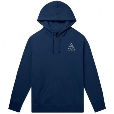 Hoodies Huf Essentials TT Hood Navy Blazer
