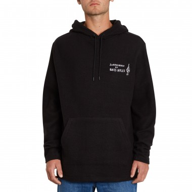 Hoodies Volcom Loose Trucks Hooded LS Black