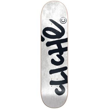 Board Cliché Handwritten RHM White Black
