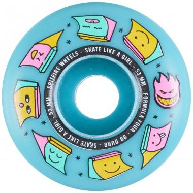 Roues Spitfire F4 Skate Like Girl Rad 99D