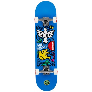 Complete Board Almost Sky Doodle Skateistan