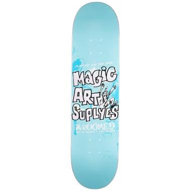 Board Krooked Team Magic Art Supplies Blue