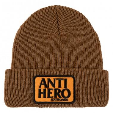 Bonnet Anti Hero Reserve Patch Brown Orange
