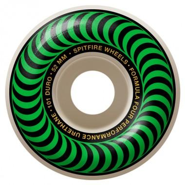 Roues Spitfire F4 Classics Green 101D