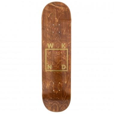 Board Wknd Gold Logo Brown