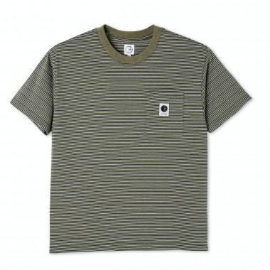 Tee Polar Stripe pocket Army Green