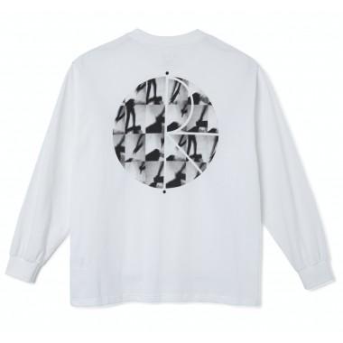 Tee Polar Sequence Fill Logo LS White