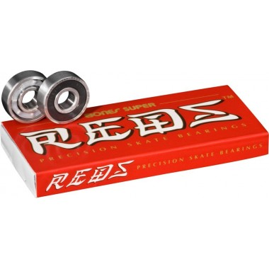Roulements Bones Super Redz Red