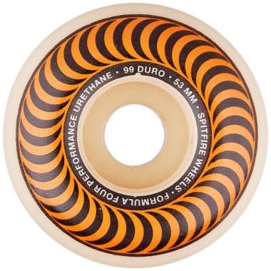 Roues Spitfire F4 Classic Orange 99D