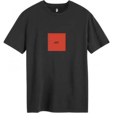 Tee Poetic Collective Art Black Red