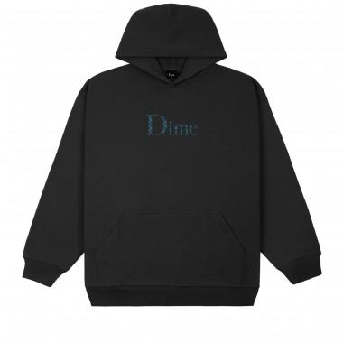 Hoodies Dime Classic Plaid Black