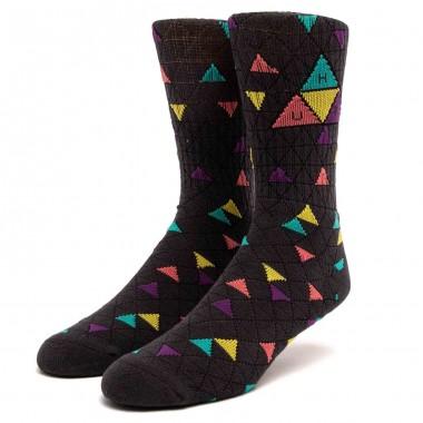 Socks Huf TT Pattern Charcoal