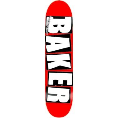 Board Baker Brand Red Logo White