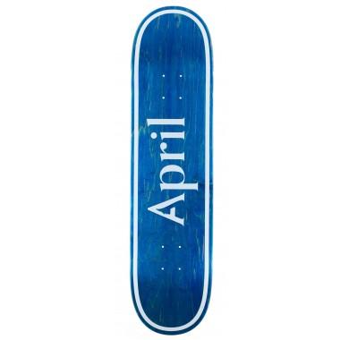 Board April OG Logo Invert Blue