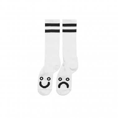 Socks Polar Happy Sad Long White