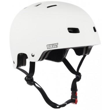 Casque Bullet Helmet White Matt