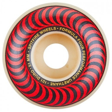 Roues Spitfire F4 Classics Red 101D