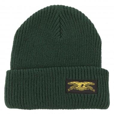 Bonnet Anti Hero Stock Eagle Label Dark Green Yellow