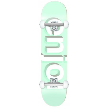 Complete Board Enjoi Helvetica Neue Aqua