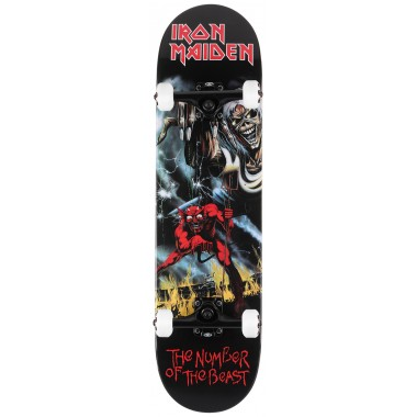 Complete Board Zero Iron Maiden Number Of The Beast